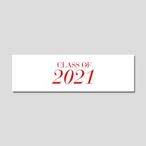 CLASS OF 2021-Bau red 501 Car Magnet 10 x 3