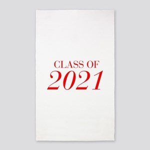 CLASS OF 2021-Bau red 501 Area Rug