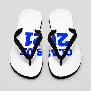 CLASS OF 2021-Fre blue 300 Flip Flops