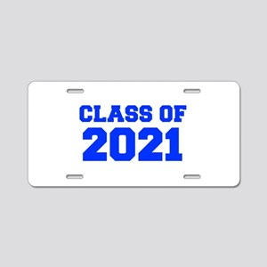 CLASS OF 2021-Fre blue 300 Aluminum License Plate