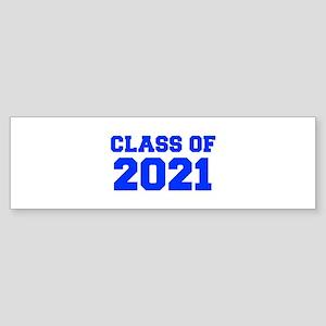 CLASS OF 2021-Fre blue 300 Bumper Sticker