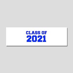 CLASS OF 2021-Fre blue 300 Car Magnet 10 x 3