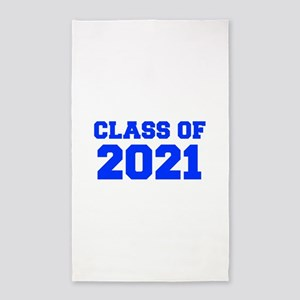 CLASS OF 2021-Fre blue 300 Area Rug