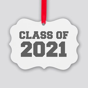 CLASS OF 2021-Fre gray 300 Ornament