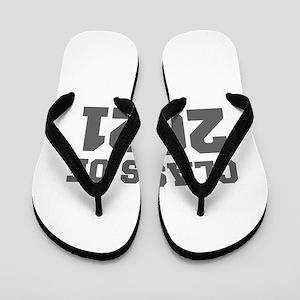 CLASS OF 2021-Fre gray 300 Flip Flops