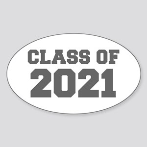 CLASS OF 2021-Fre gray 300 Sticker