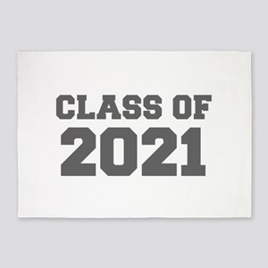 CLASS OF 2021-Fre gray 300 5'x7'Area Rug