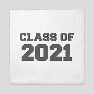 CLASS OF 2021-Fre gray 300 Queen Duvet