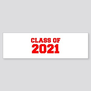 CLASS OF 2021-Fre red 300 Bumper Sticker