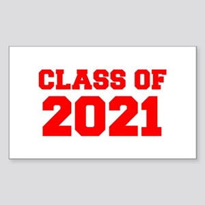 CLASS OF 2021-Fre red 300 Sticker