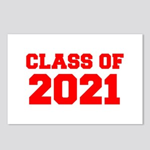 CLASS OF 2021-Fre red 300 Postcards (Package of 8)