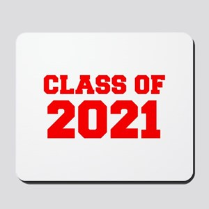 CLASS OF 2021-Fre red 300 Mousepad