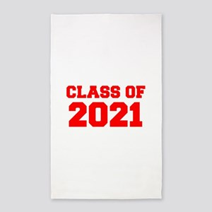 CLASS OF 2021-Fre red 300 Area Rug