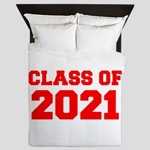 CLASS OF 2021-Fre red 300 Queen Duvet