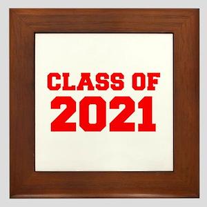 CLASS OF 2021-Fre red 300 Framed Tile