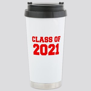 CLASS OF 2021-Fre red 300 Travel Mug