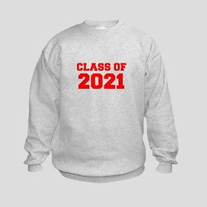 CLASS OF 2021-Fre red 300 Sweatshirt