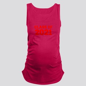 CLASS OF 2021-Fre red 300 Maternity Tank Top