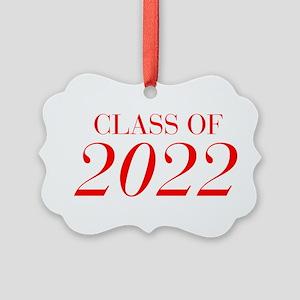 CLASS OF 2022-Bau red 501 Ornament