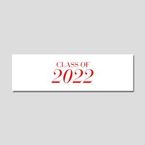 CLASS OF 2022-Bau red 501 Car Magnet 10 x 3