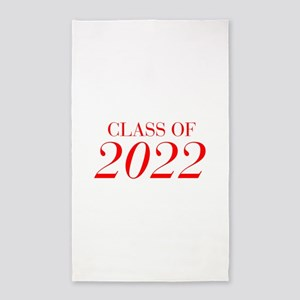 CLASS OF 2022-Bau red 501 Area Rug