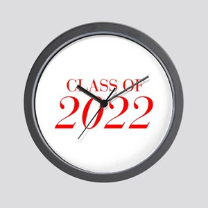 CLASS OF 2022-Bau red 501 Wall Clock