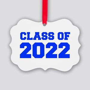 CLASS OF 2022-Fre blue 300 Ornament
