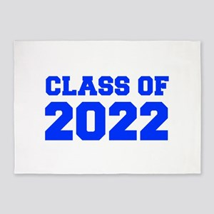 CLASS OF 2022-Fre blue 300 5'x7'Area Rug
