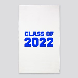 CLASS OF 2022-Fre blue 300 Area Rug