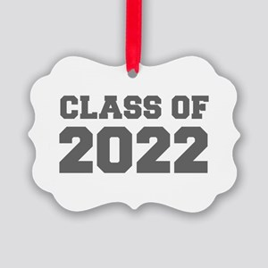 CLASS OF 2022-Fre gray 300 Ornament