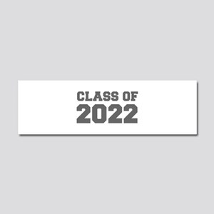 CLASS OF 2022-Fre gray 300 Car Magnet 10 x 3