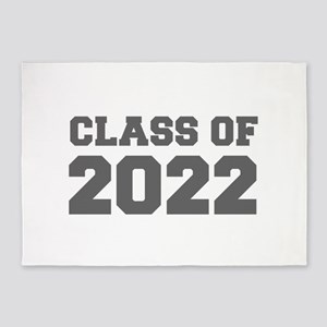 CLASS OF 2022-Fre gray 300 5'x7'Area Rug