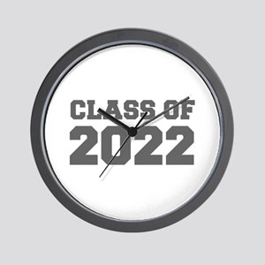 CLASS OF 2022-Fre gray 300 Wall Clock