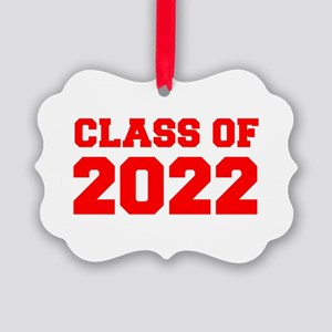 CLASS OF 2022-Fre red 300 Ornament