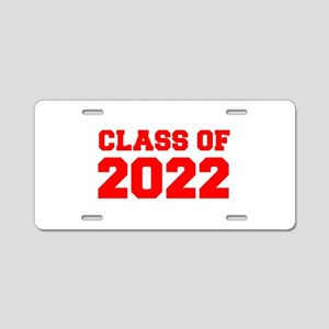 CLASS OF 2022-Fre red 300 Aluminum License Plate