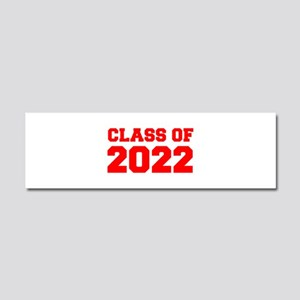 CLASS OF 2022-Fre red 300 Car Magnet 10 x 3