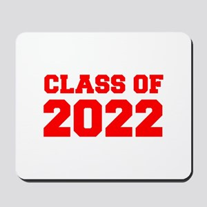 CLASS OF 2022-Fre red 300 Mousepad