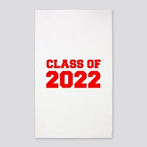 CLASS OF 2022-Fre red 300 Area Rug