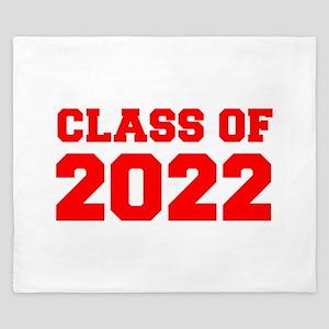 CLASS OF 2022-Fre red 300 King Duvet