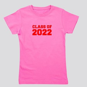 CLASS OF 2022-Fre red 300 Girl's Tee