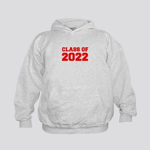 CLASS OF 2022-Fre red 300 Hoodie
