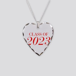 CLASS OF 2023-Bau red 501 Necklace
