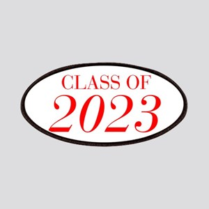 CLASS OF 2023-Bau red 501 Patch