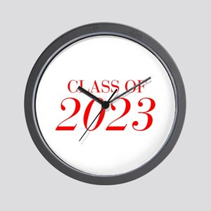 CLASS OF 2023-Bau red 501 Wall Clock
