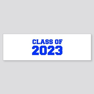 CLASS OF 2023-Fre blue 300 Bumper Sticker
