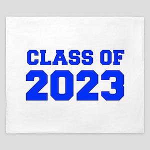 CLASS OF 2023-Fre blue 300 King Duvet