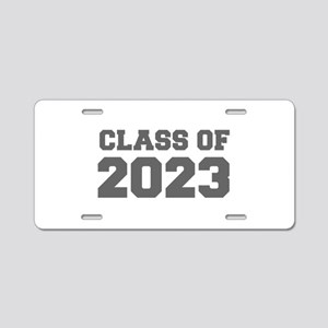 CLASS OF 2023-Fre gray 300 Aluminum License Plate