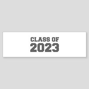 CLASS OF 2023-Fre gray 300 Bumper Sticker