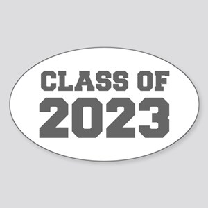 CLASS OF 2023-Fre gray 300 Sticker