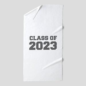 CLASS OF 2023-Fre gray 300 Beach Towel